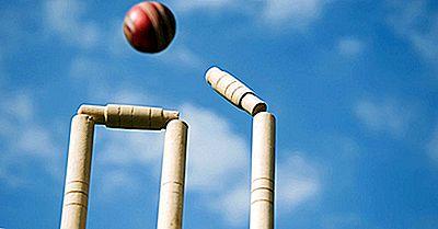 Países Con El Mayor Número De Campos De Cricket De Prueba