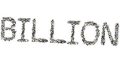 Hvor Mange Nuller Er I Milliarder?