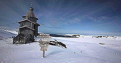 Composición Religiosa De La Antártida