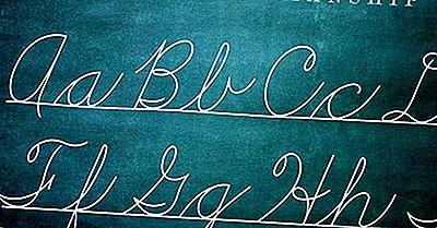 ¿Qué Es Una Letra Cursiva?