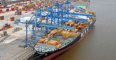 Los Puertos Más Transitados De Los Estados Unidos Por Volumen De Carga