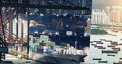 Economiile Naționale Conduse De Comertul Cu Mărfuri