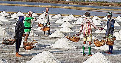 Os 20 Principais Países Exportadores De Sal
