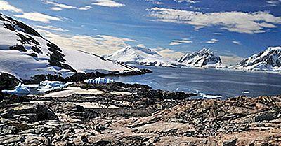 As 10 Maiores Ilhas Antárticas