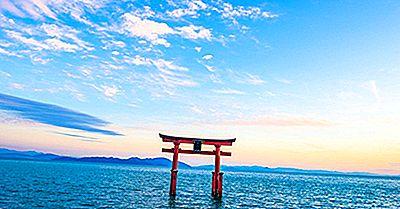 Les 10 Plus Grands Lacs Du Japon