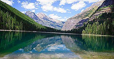 Lacul Avalanche, Montana - Locații Unice În Lume