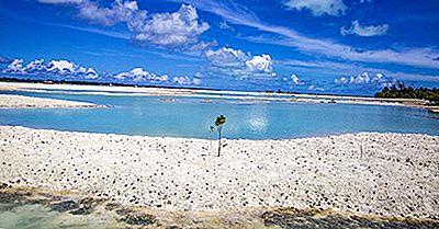 Maiores Ilhas E Atóis Em Kiribati