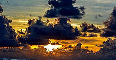Las Islas Más Grandes Y Los Atolones En Tuvalu