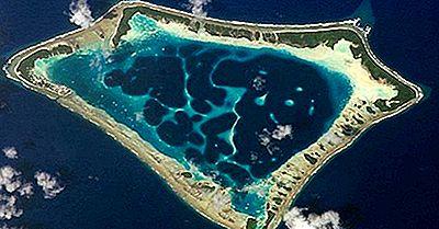Landforms Costieri E Oceanici: Cosa È Un Atollo?