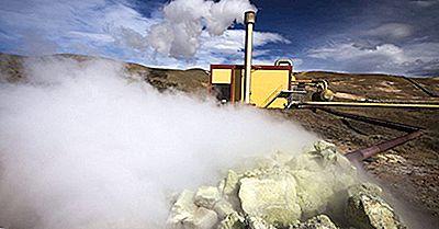 Lande Afhængig Af Fossile Brændstofkilder Til Energibehov