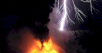 Știați Că Lumina Poate Apărea În Nori De Erupțiile Vulcanice?