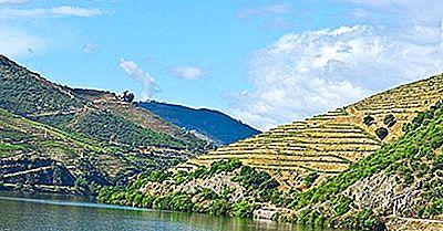 Der Douro-Fluss Von Portugal Und Von Spanien