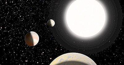 Les Planètes Naines