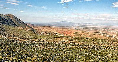 Eastern Rift Valley (Gregory Rift) - Afrika Geografi