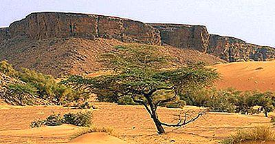 Régions Écologiques De La Mauritanie