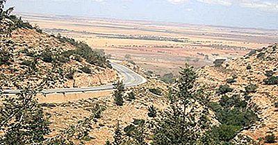 Ökologische Regionen Von Marokko