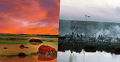 Regiunile Ecologice Din Sudanul De Sud