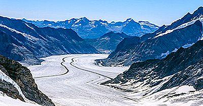 El Efecto Del Calentamiento Global En Los Principales Glaciares En Suiza