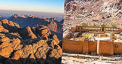 Principales Parques Nacionales Y Protectorados De La Naturaleza De Egipto