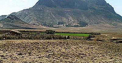 Eritreas Major Mountains Und Vulkane