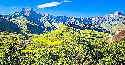 La Gran Escarpa Del Sur De África
