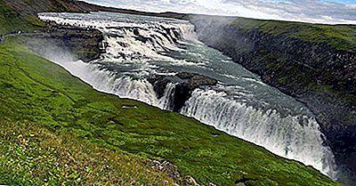 Cachoeira De Gullfoss, Islândia