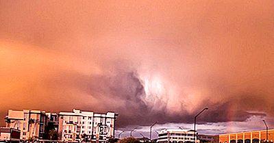 Polvo De Haboob Y Tormentas De Arena - Fenómenos Meteorológicos Únicos