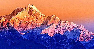 Las Montañas Más Altas De La India