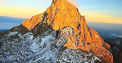 Le Più Alte Montagne Del Kenya