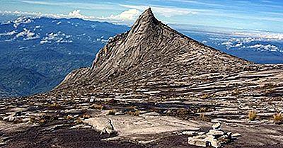 Las Montañas Más Altas De Malasia