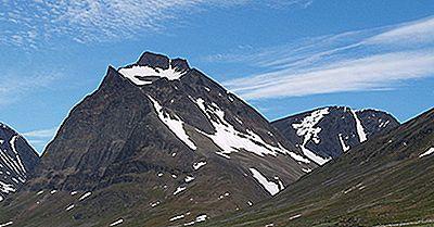 Montanhas Mais Altas Da Suécia