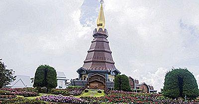 Las Montañas Más Altas En Tailandia