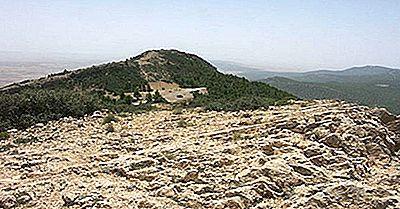 Högsta Bergen I Tunisien