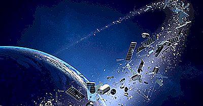 Hvor Mange Satellitter Er Der I Rummet?