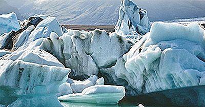 Hur Mycket Av Jordens Yta Är Täckt Av Glaciärer?