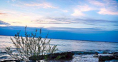 Cât De Multă Apă Este În Lacul Erie?