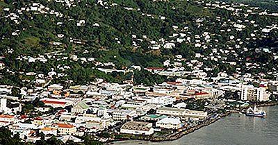 Islas Más Grandes En San Vicente Y Las Granadinas
