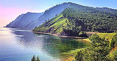Les Plus Grands Lacs Par Continent