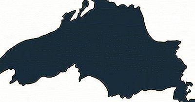 Största Sjöar I Kanada Efter Provins Eller Territorium
