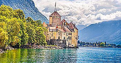 Os Maiores Lagos Da Suíça