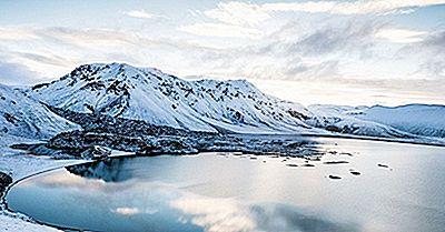 Los Lagos Más Grandes De Islandia