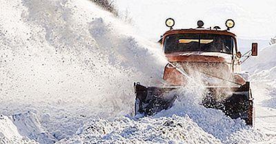 Lista De Las Peores Tormentas De Invierno En América Por Costo
