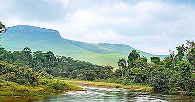 Los Ríos Más Largos En La República Democrática Del Congo (Congo-Kinshasa)