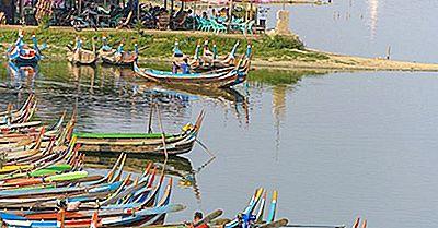 Fiumi Più Lunghi In Myanmar (Birmania)