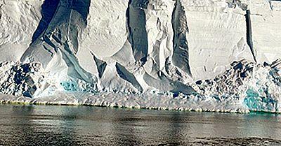 Los Principales Estanques De Hielo En La Antártida