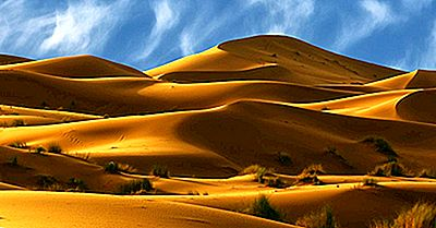 De Största Delarna Av Sahara Öknen I Afrika