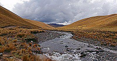 Principales Rivières De La Bolivie
