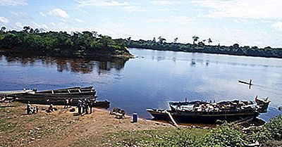 Major Rivers Of Cameroon