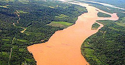 Major Rivers Of Peru