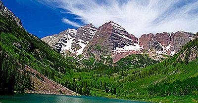Maroon Bells Of The Elk Mountains
